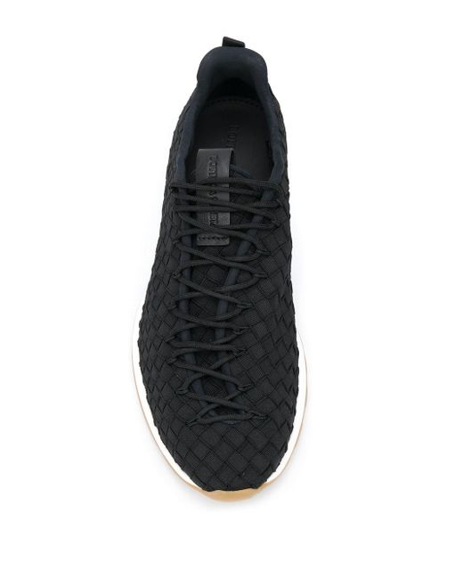 Кроссовки С Плетением Intrecciato Bottega Veneta для него, цвет: Black