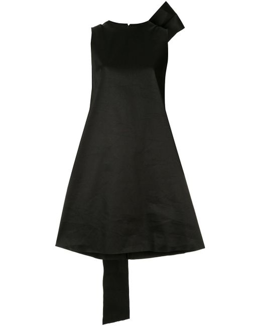 Yang Li リボン ミニドレス Black