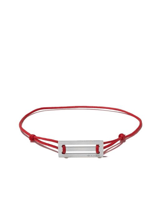 Le Gramme 25/10g ブレスレット Red