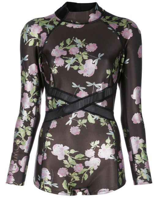Cynthia Rowley Metallic Rose ウェットスーツ Multicolor