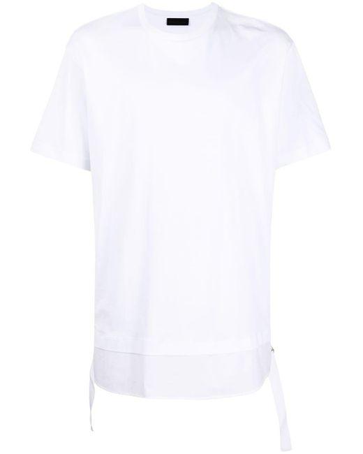 メンズ Diesel Black Gold レイヤード Tシャツ White