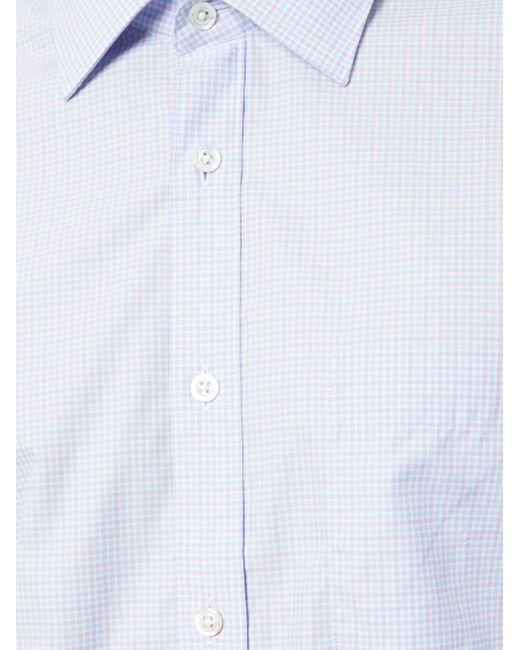 Camicia aderente di Gieves & Hawkes in Pink da Uomo