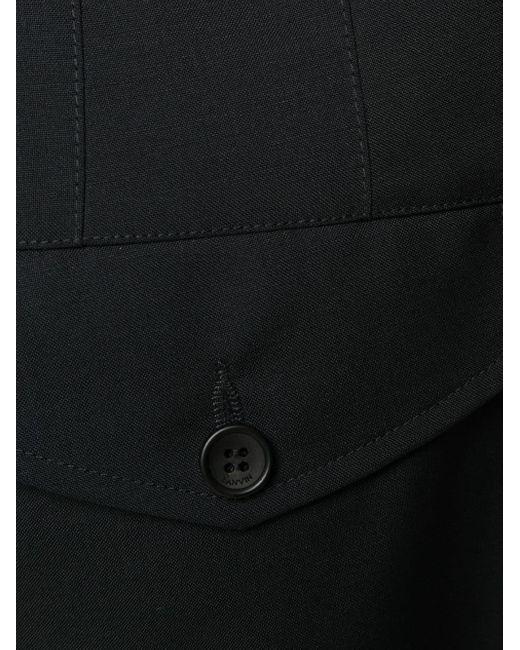 メンズ Lanvin ウール パンツ Blue