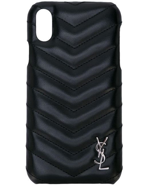 Saint Laurent Iphone X/xs ケース Black
