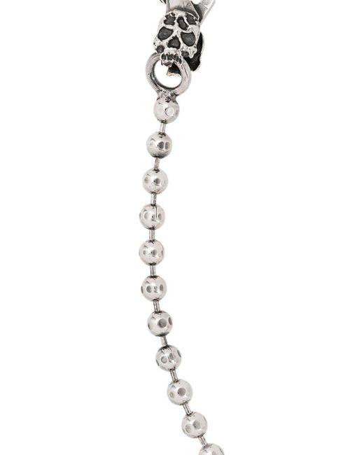 Ball Chain Bracelet Emanuele Bicocchi, цвет: Metallic