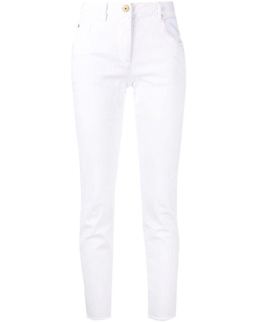 Jeans a coste di Brunello Cucinelli in White