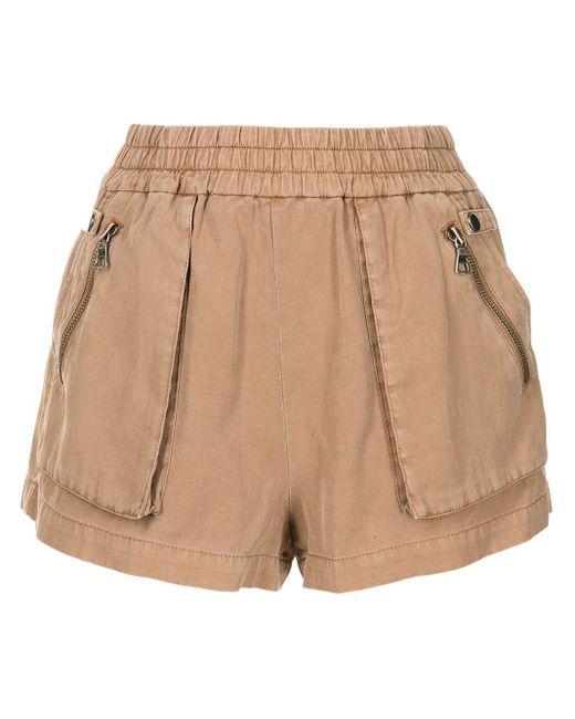 Shorts Britney Alice + Olivia de color Brown