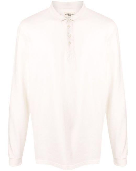 メンズ Kent & Curwen カラーブロック ポロシャツ White