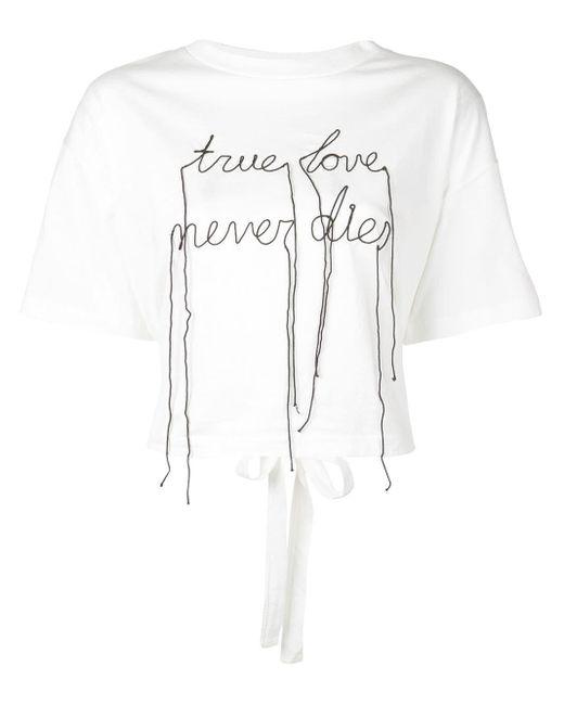 Haculla プリント Tシャツ White