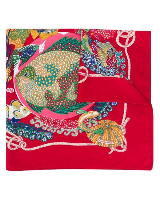 Платок Grands Fonds 1990-х Годов Pre-owned Hermès, цвет: Multicolor