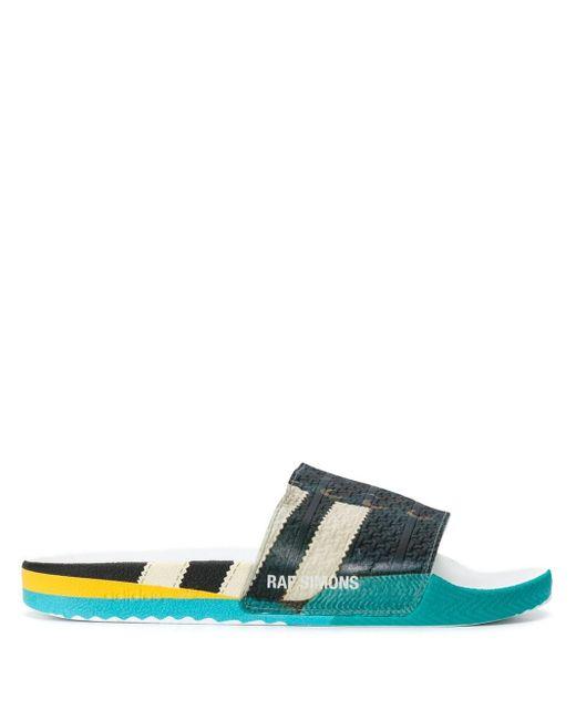 Шлепанцы С Принтом Adidas для него, цвет: Multicolor