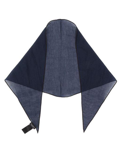 メンズ Ermenegildo Zegna ライトウェイト スカーフ Blue