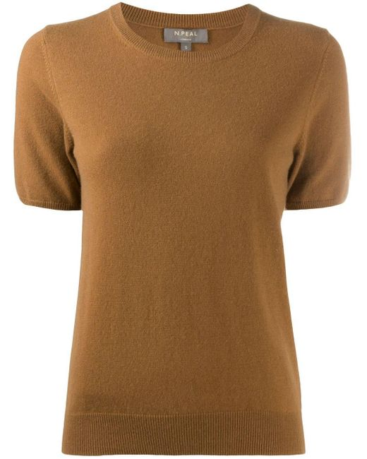 N.Peal Cashmere カシミア トップ Brown