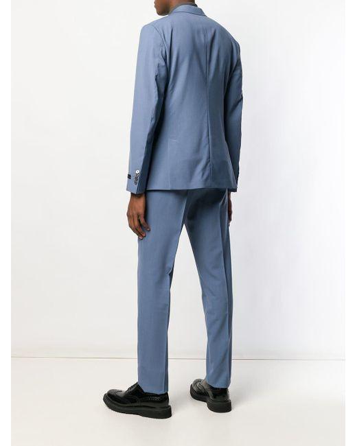 3fdb2874ea Costume classique homme de coloris bleu