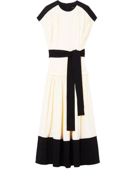 Proenza Schouler ショートスリーブ ドレス Multicolor