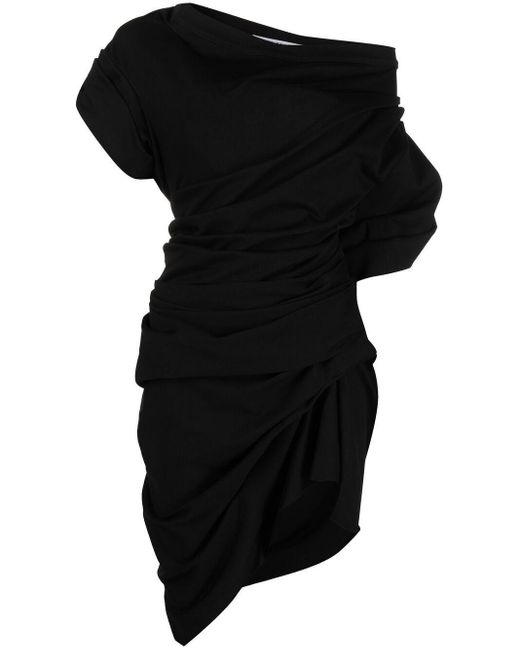 Alexander Wang オフショルダー ドレス Black