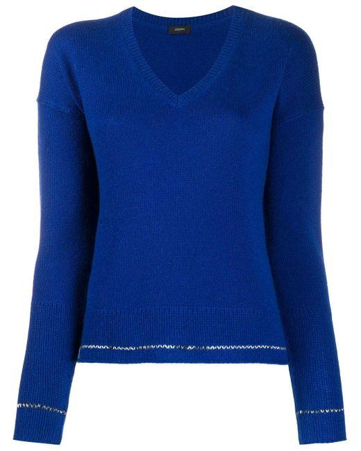 Joseph カシミア セーター Blue