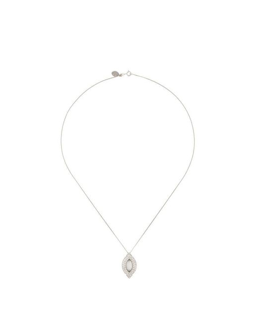 V Jewellery - Gray Dream Pendant Necklace - Lyst