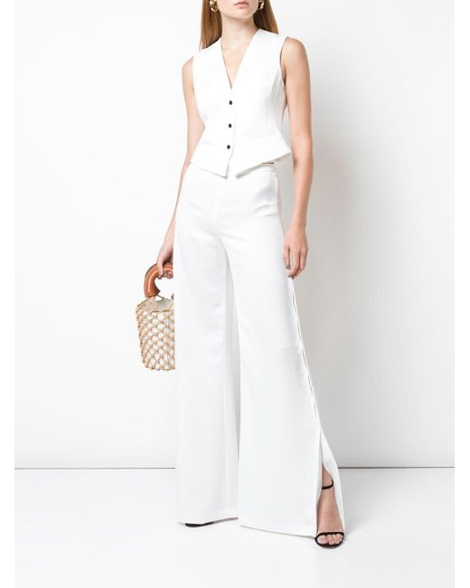 Pantalon Roque Alexis en coloris White