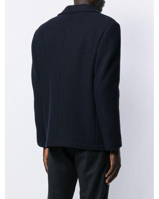 メンズ Mp Massimo Piombo ボクシーフィット ジャケット Blue