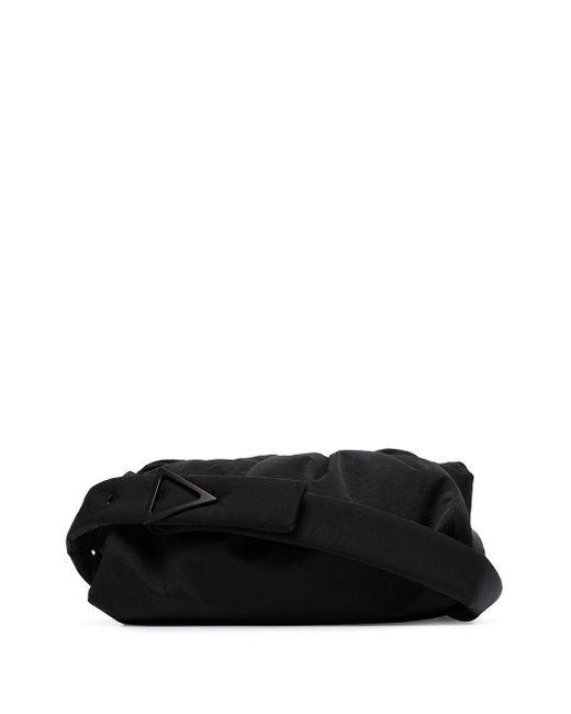 Поясная Сумка Cassette Bottega Veneta для него, цвет: Black