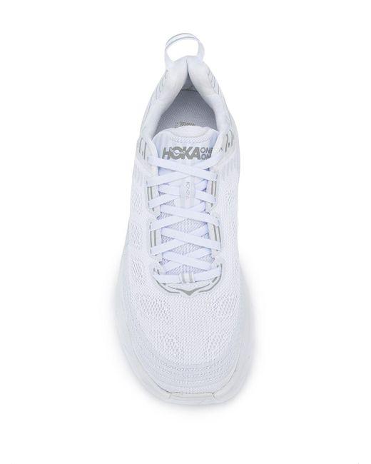 メンズ Hoka One One Bondi 6 スニーカー White