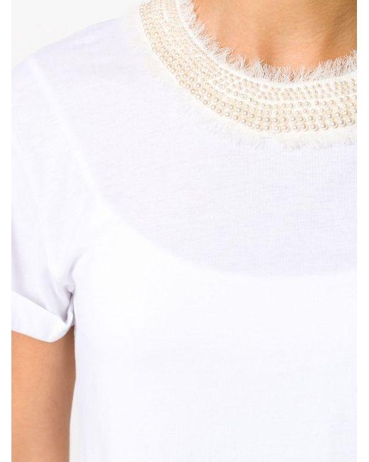 Twin Set デコラティブ Tシャツ White