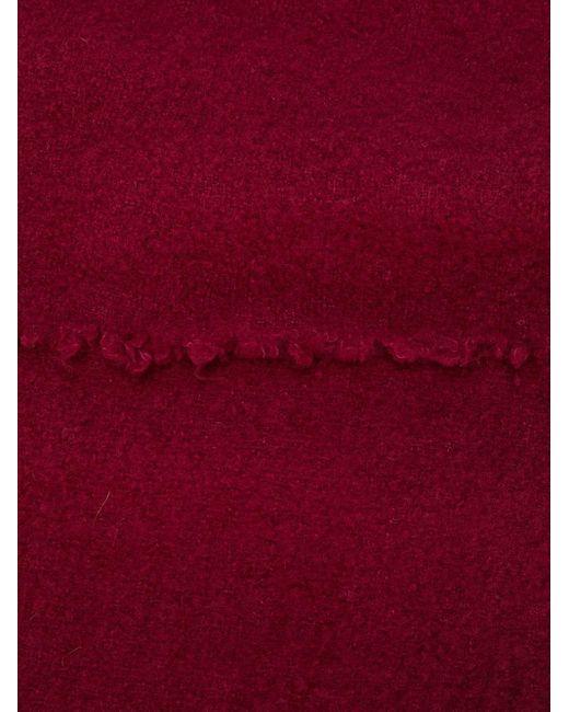メンズ Faliero Sarti スカーフ Red