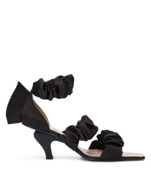 Neith Nyer Black Chou Sandals