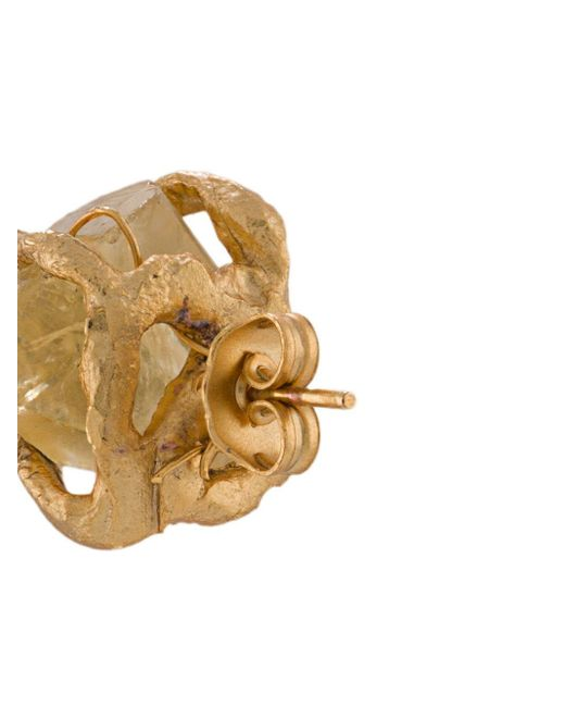 Асимметричные Серьги-подвески Forte Forte, цвет: Metallic
