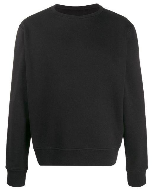 メンズ Maison Margiela クルーネック スウェットシャツ Black