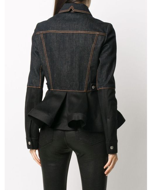 Alexander McQueen デニムジャケット Black