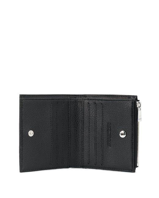 Фактурный Кошелек Emporio Armani для него, цвет: Black