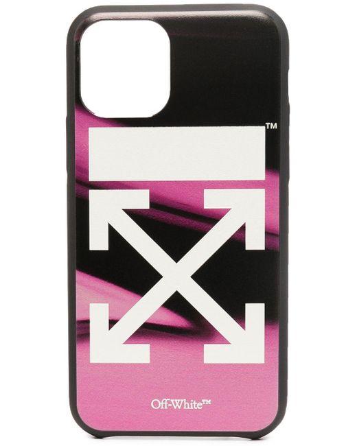 Off-White c/o Virgil Abloh ロゴ Iphone 11 Pro ケース Pink
