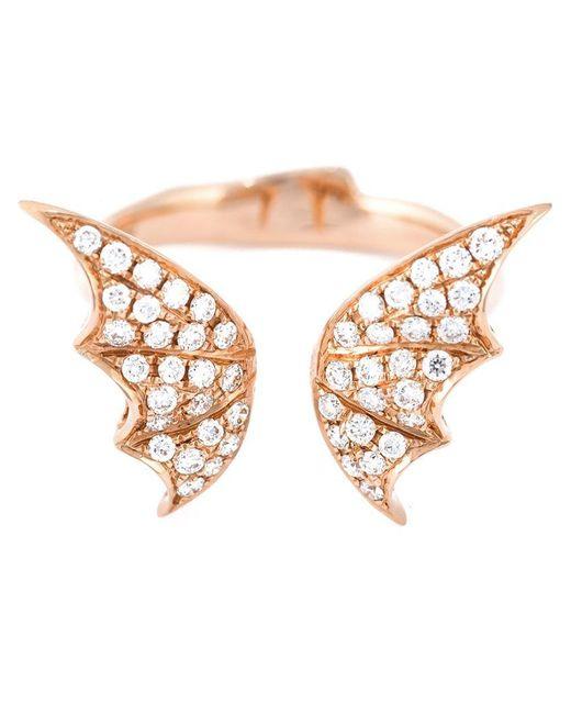 Stephen Webster - Pink Bat Wings Diamond Ring - Lyst