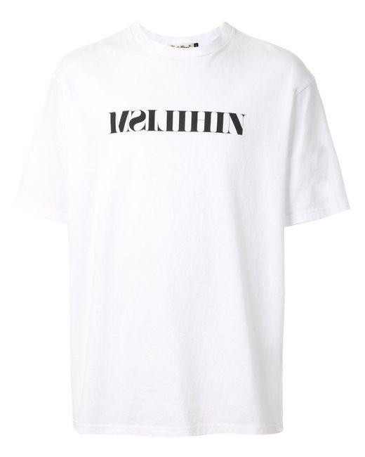 メンズ Undercover ロゴ Tシャツ White