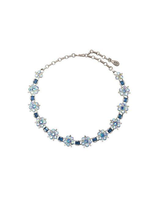 Susan Caplan 1950s Lisner ネックレス Blue