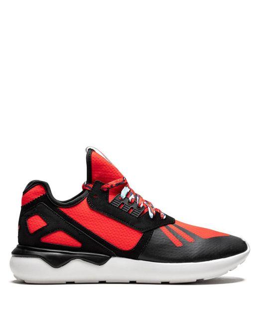 メンズ Adidas Tubular Runner スニーカー Red