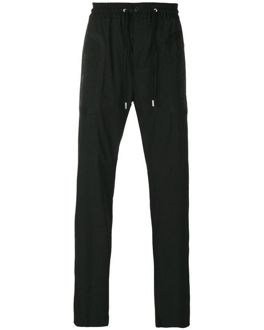 Givenchy | Black Drawstring Track Pants for Men | Lyst