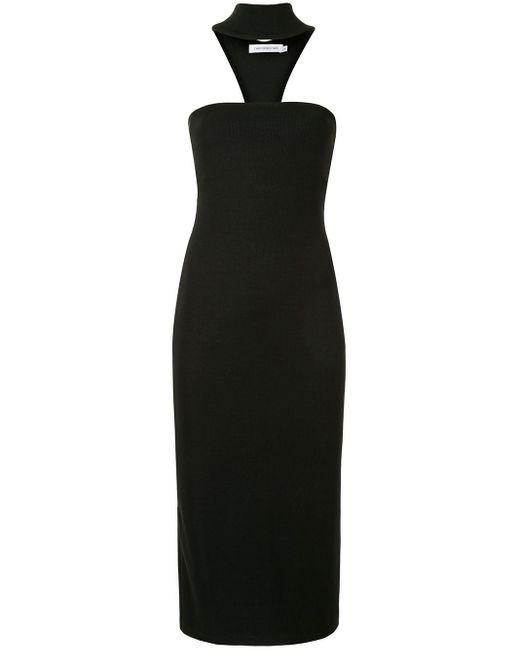 Christopher Esber T-bar ドレス Black
