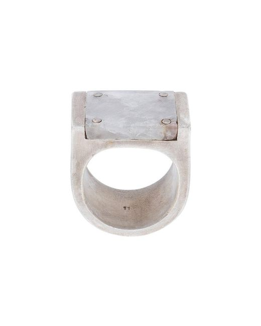 Parts Of 4 | Metallic Anello Ring for Men | Lyst