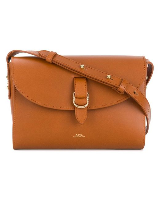 A.P.C. - Brown Alicia Crossbody Bag - Lyst