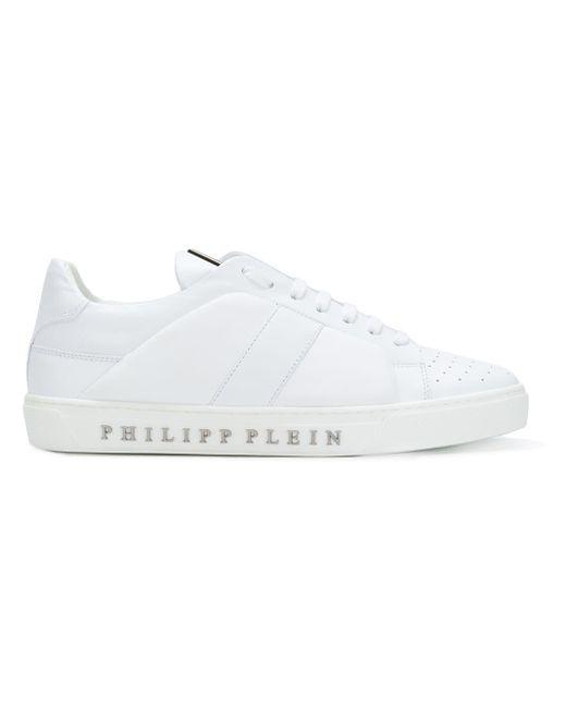 メンズ Philipp Plein レースアップ スニーカー White