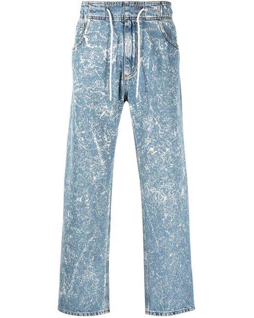 メンズ MSGM ワイドジーンズ Blue