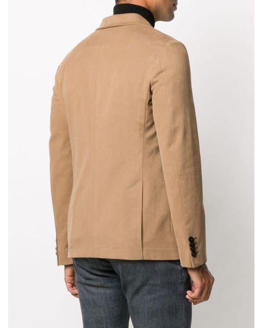 Двубортный Пиджак Tonello для него, цвет: Brown
