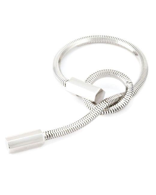 Lara Bohinc - Metallic 'schumacher' Loop Bracelet - Lyst