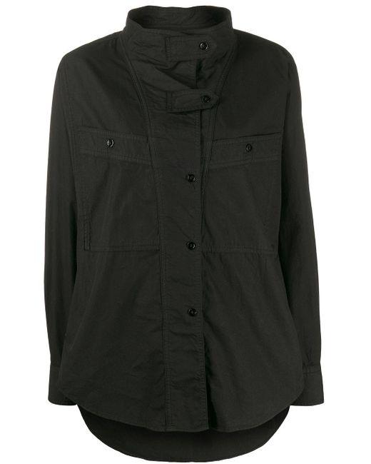 Étoile Isabel Marant オーバーサイズ シャツ Black