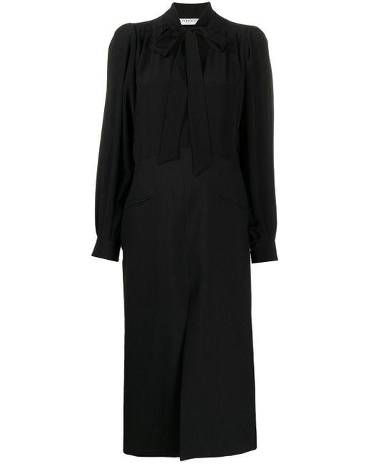 Givenchy ボウタイ ドレス Black