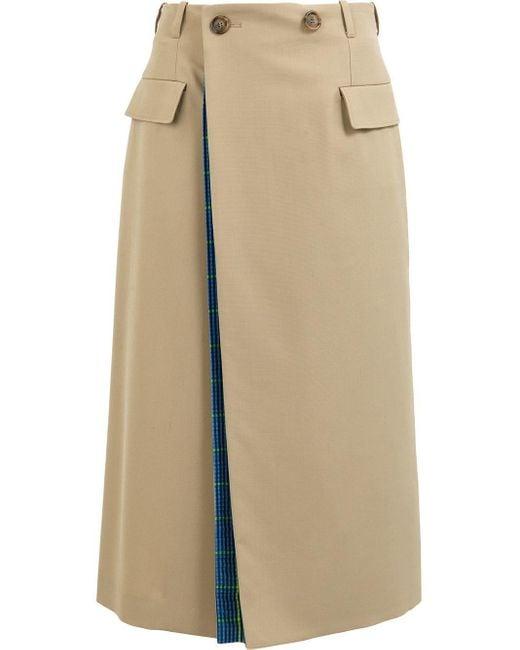 Maison Margiela レイヤード スカート Natural