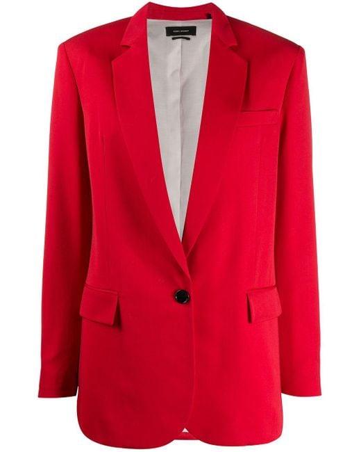 Isabel Marant シングルジャケット Red